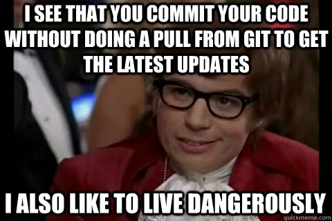 git Austin Powers meme