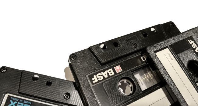 The tapeless cassettes